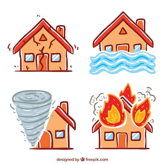 Набор стихийных бедствий