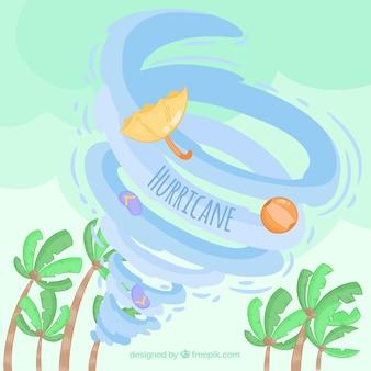 ハリケーンのデザイン