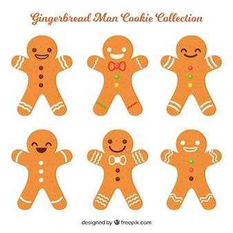 クリスマスジンジャーブレッドクッキーのセット