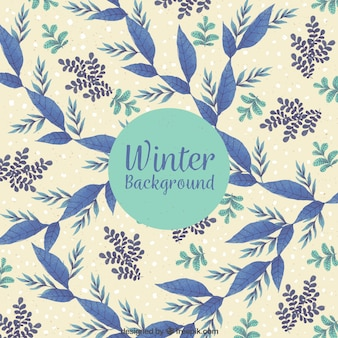 パターンの冬の背景