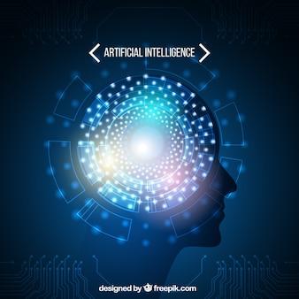 抽象的な人工知能テンプレート