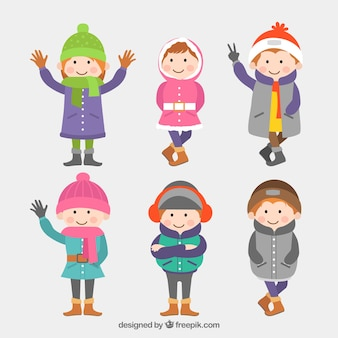 冬の子供たち