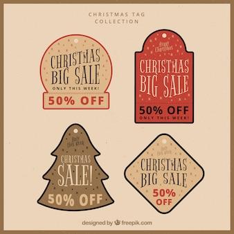 クリスマスセールステッカーパック