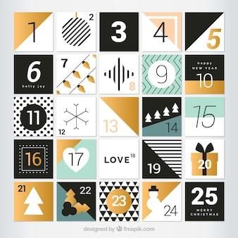 かわいいアドベントカレンダー