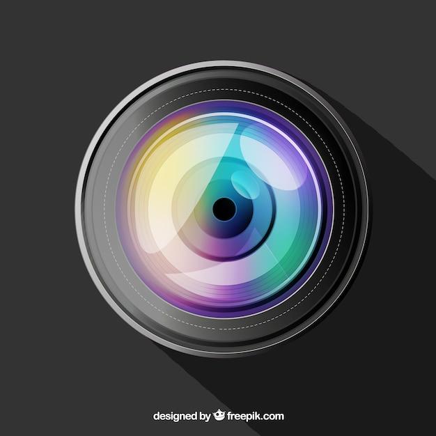 超リアルなカメラレンズ