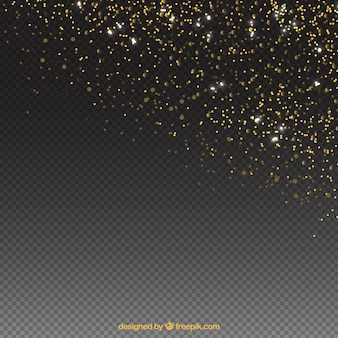 エレガントな光る粒子の背景