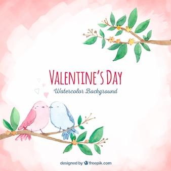 かわいいバレンタインの背景