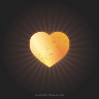 Золотым сердцем