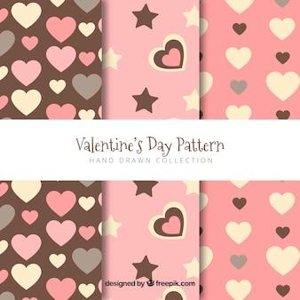 バレンタインのパターン