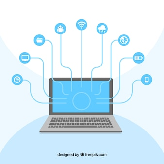 Компьютер социальных сетей