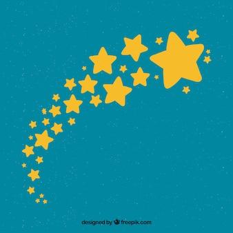 かわいい星の背景
