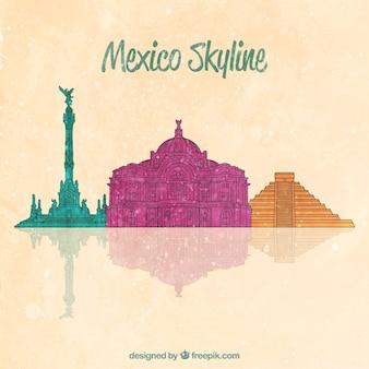 Мексиканский горизонт фон