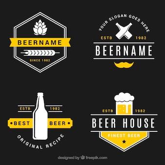 ヴィンテージビールロゴコレクション