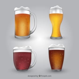 リアルなビールグラス&マグカップコレクション