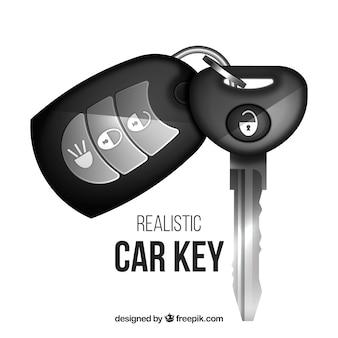 現実的な車のキー