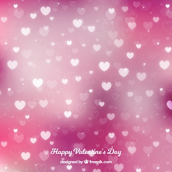 Размытый фон дня валентина