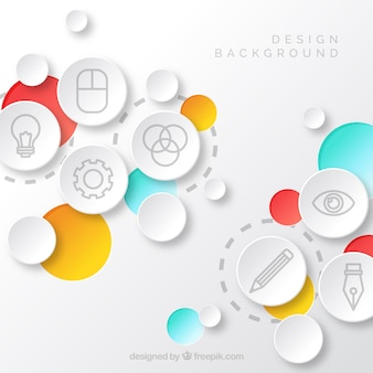 Фон элементов дизайна