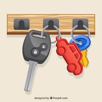Ключ плоской машины