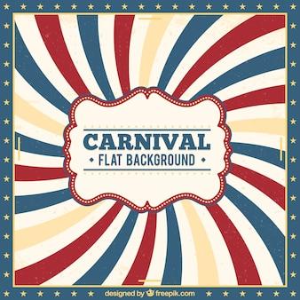Винтажный карнавальный фон