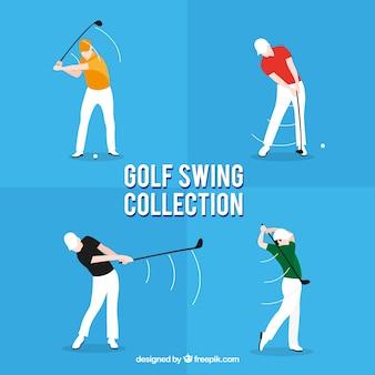 Коллекция качелей для гольфа