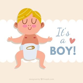 その男の子の背景のデザイン