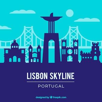 リスボンのスカイライン