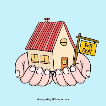 Дом в аренду в руках