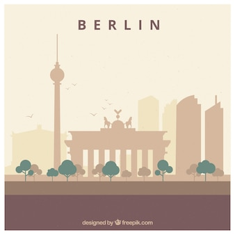 ベルリンのスカイラインデザイン