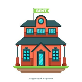 Красивый дом в аренду фон