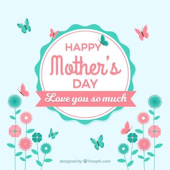 幸せな母の日はあなたをとても愛しています