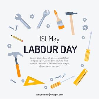 労働日の背景