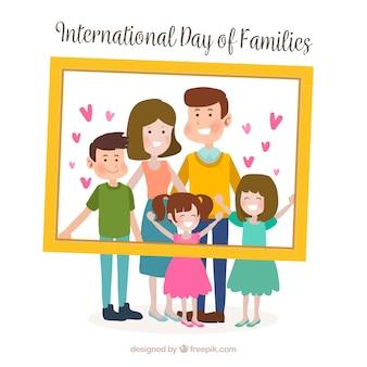 国際家族の日の背景
