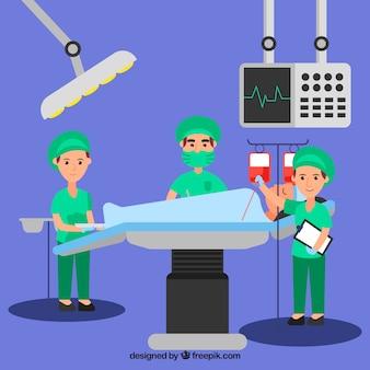 医療スタッフのコンセプト
