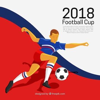 プレーヤーとワールドカップの背景