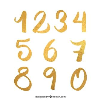 ゴールデンスタイルの数値コレクション