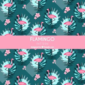 Летний узор фламенко