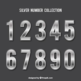 シルバースタイルのナンバーコレクション