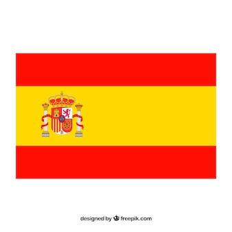 スペインの旗の背景