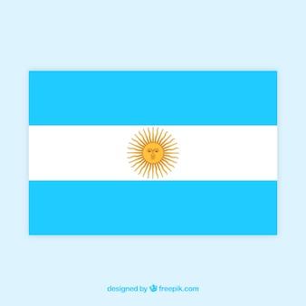 アルゼンチンの旗の背景