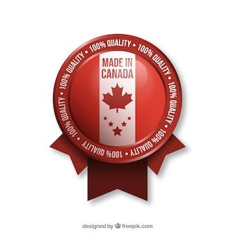 カナダ産のラベル
