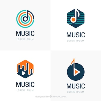 現代音楽のロゴ