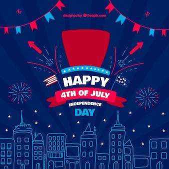 米国独立記念日の祝賀の背景