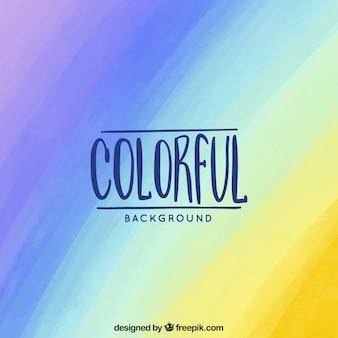 多くの色の虹の背景