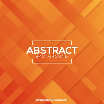 オレンジ色の線を持つ抽象的な背景