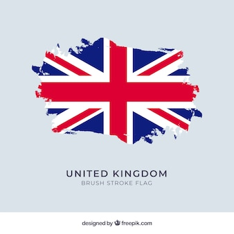 Фон флага соединенного королевства