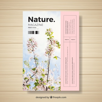 Шаблон журнала природы