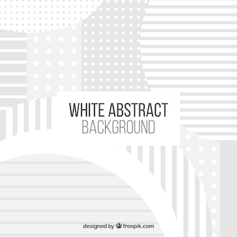 Белый фон с абстрактным дизайном