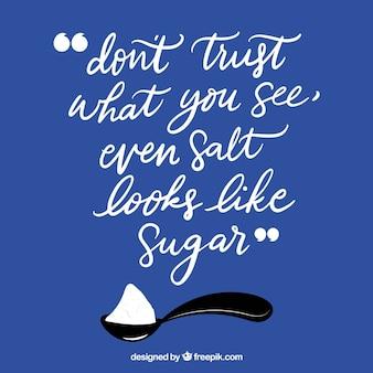 Мотивационная цитата с плоским дизайном