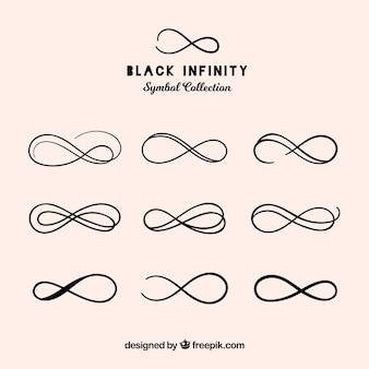 無限シンボルコレクション、黒色