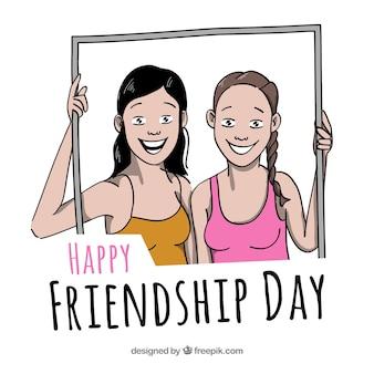 親友との友情の日の背景